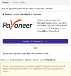 payoneer for tophatter 12